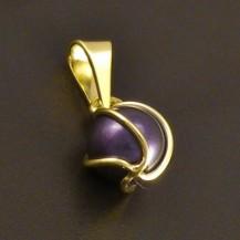 Černá perla v klícce 8091