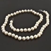 Perlový náhrdelník průměr perel 8109