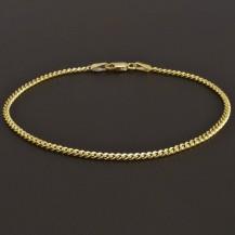 Dámský zlatý náramek pevný 8164
