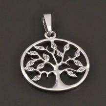Strom života přívěs zlatý 7946