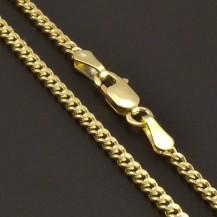 Zlatý řetízek pevný pancr 8167