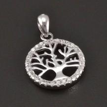 Přívěšek stříbrný strom života 8192
