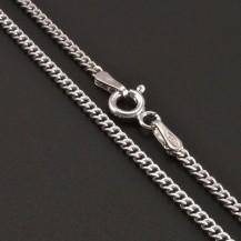 Jemný stříbrný řetízek pancr 8204