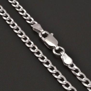 Stříbrný řetízek šířka 2,80 mm 8207 č.1