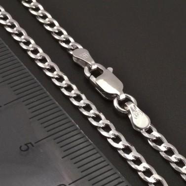 Stříbrný řetízek šířka 2,80 mm 8207 č.2
