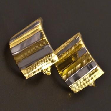 Výrazné náušnice zlaté 8321 č.1