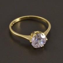 Zlatý prsten zirkon 8482