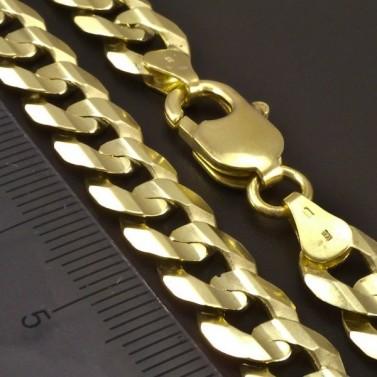 Pánský zlatý náramek pancr č.3