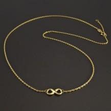 Zlatý náhrdelník nekonečno