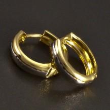 Zlaté kroužky žlutobílé