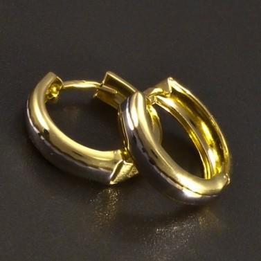 Zlaté kroužky žlutobílé č.1