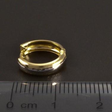 Zlaté kroužky žlutobílé č.3