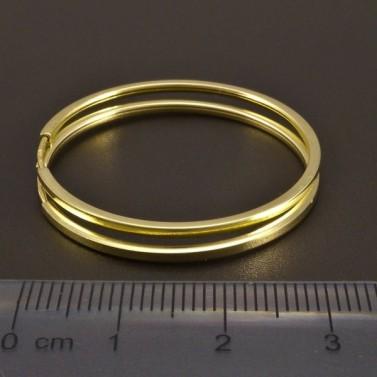 Zlaté kruhy průměr 32 č.2