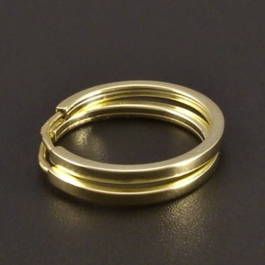 Jednoduché zlaté kroužky č.1
