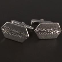 Stříbrné manžetové knoflíky