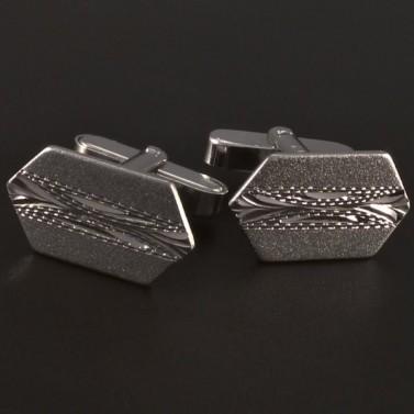Stříbrné manžetové knoflíky č.1