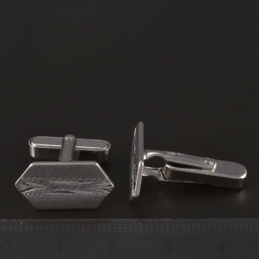 Stříbrné manžetové knoflíky č.2