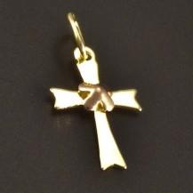 Křížek žluté a červené zlato