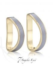 Snubní prsteny z chirurgické oceli 029 Oidipus a Iokasté