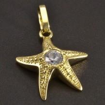 Zlatý přívěs hvězdice