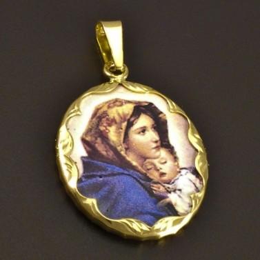 Porcelánová Madonka s Ježíškem malá č.1