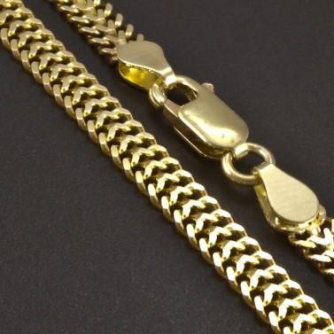 Zlatý plochý náramek 5,25 g č.2