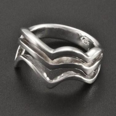 Prořezávaný prsten celostříbrný 2321 č.1