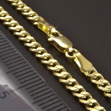 Zlatý náramek pancr 3 mm č.3