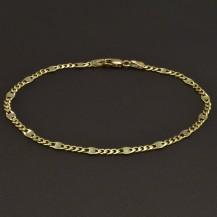 Zlatý náramek šířka 3,10 mm
