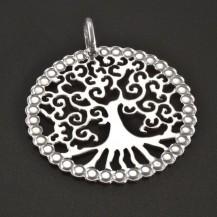 Stříbrný přívěs strom života