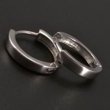 Hladké kroužky stříbrné