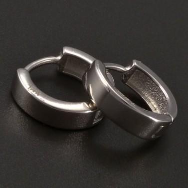 Jednoduché stříbrné kroužky č.1