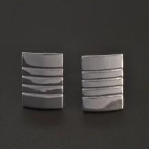 Manžetové knoflíky stříbrné