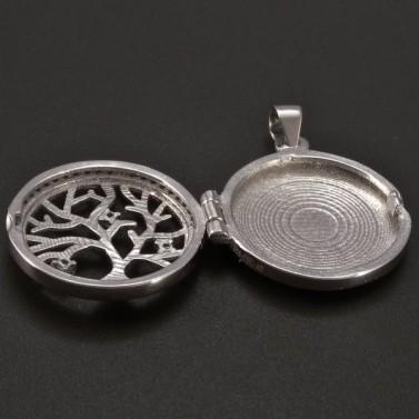 Stříbrný medailon strom života č.2