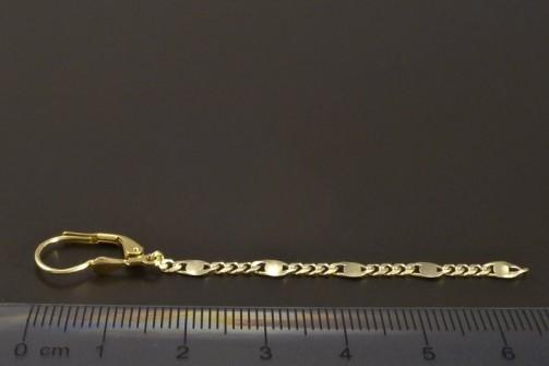 Zlaté visací řetízkové náušnice č.3