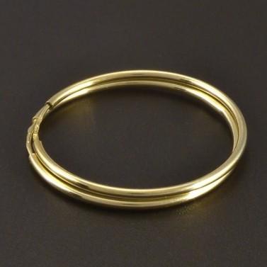 Zlaté jemné kruhy č.1
