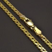 Dvojpancr zlatý řetízek